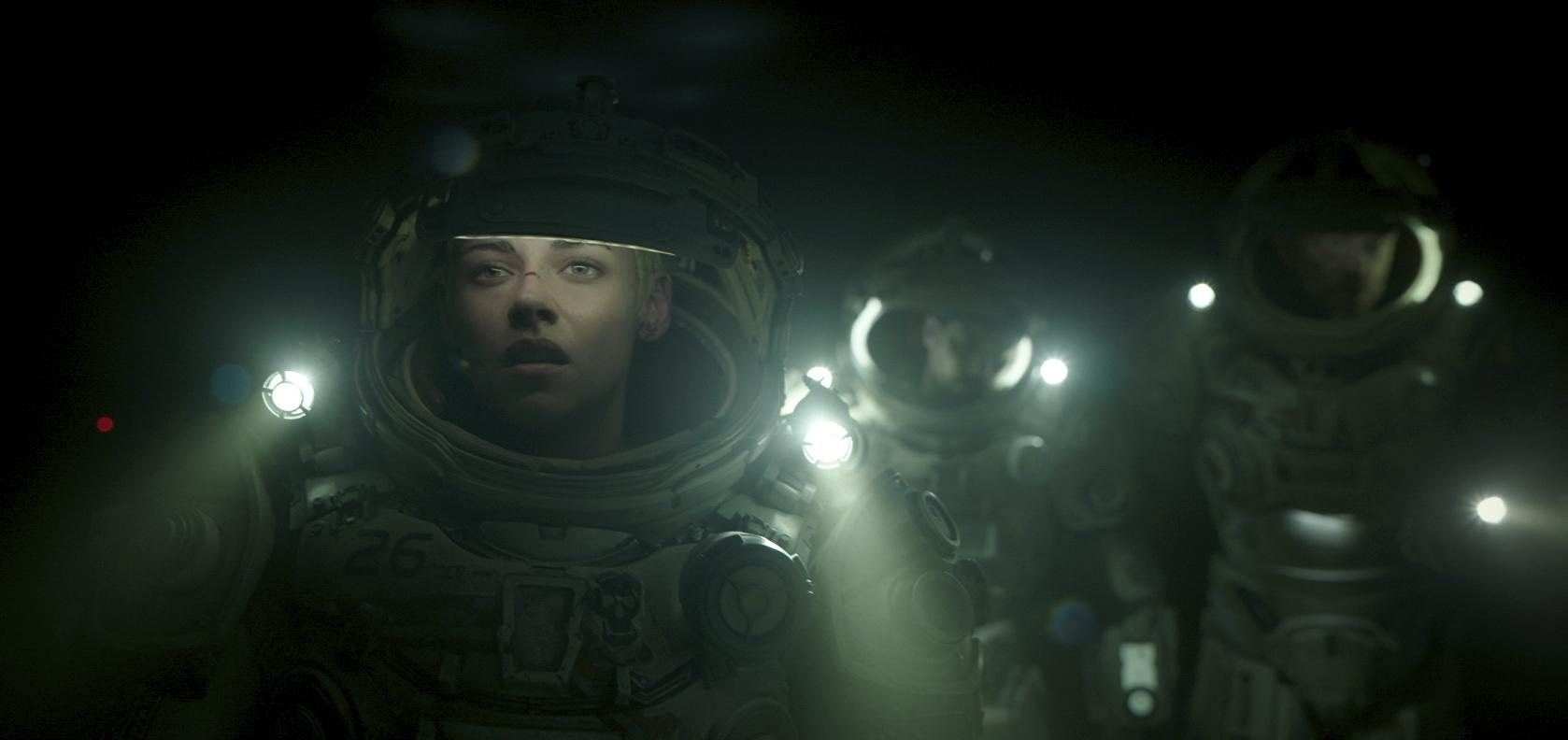 Underwater, film SF 2020.