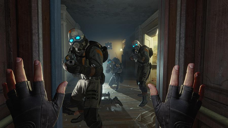 Half-Life: Alyx a impresionat ca joc VR