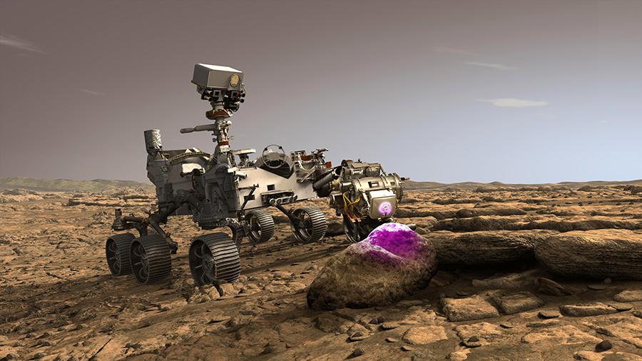 Roverul Perseverance ar trebui să ajungă pe Marte în februarie 2021