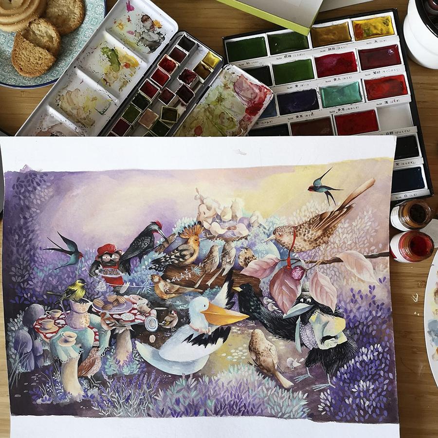 Alexia Udriște - pictură