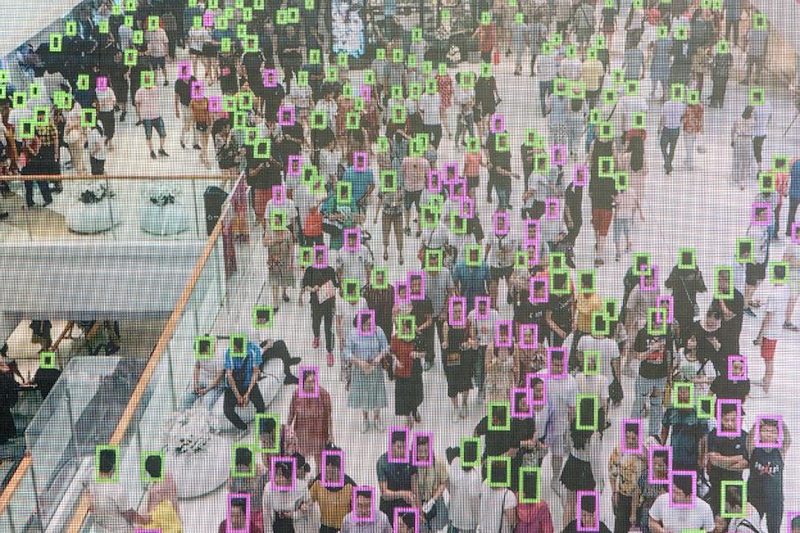 Recunoașterea facială prin inteligență artificială