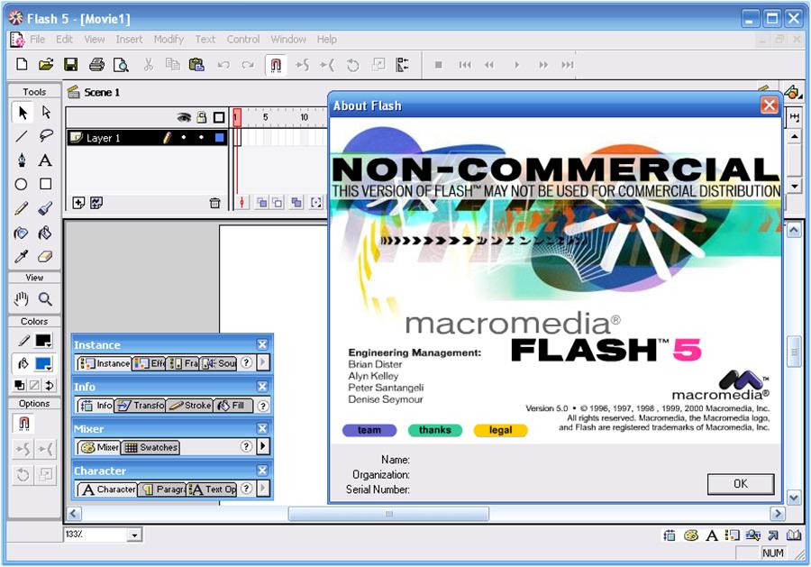 Cum erau create animațiile pentru Flash Player