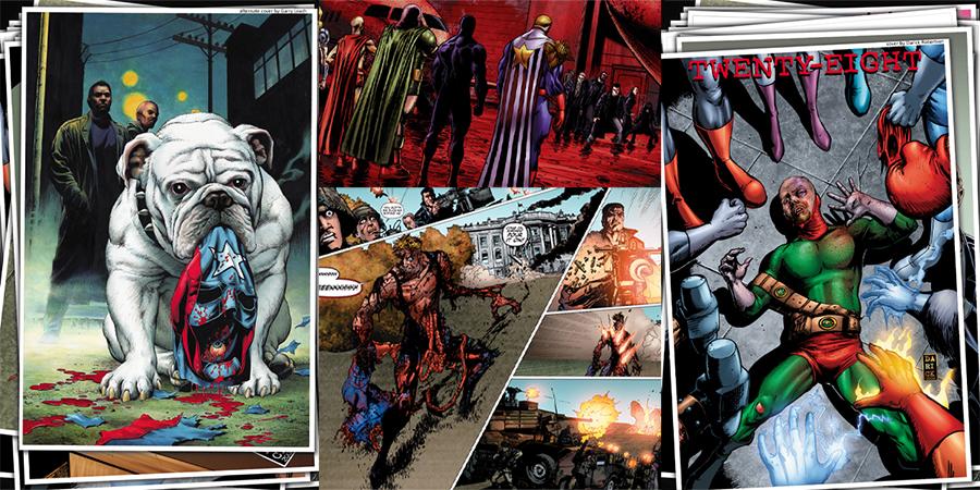 The Bous. Comics. Wildstorm (#1–6), Dynamite Entertainment (#7–72)