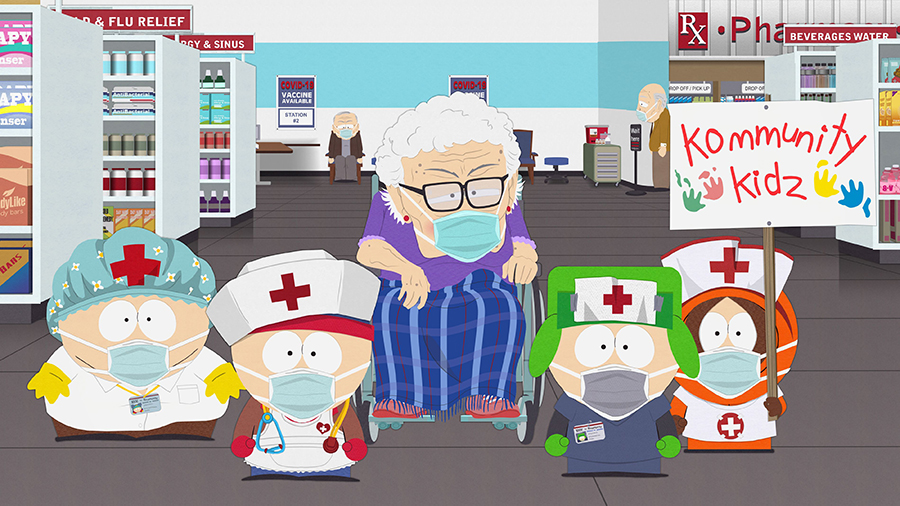 Cadru din South Park - The Vaccination Special