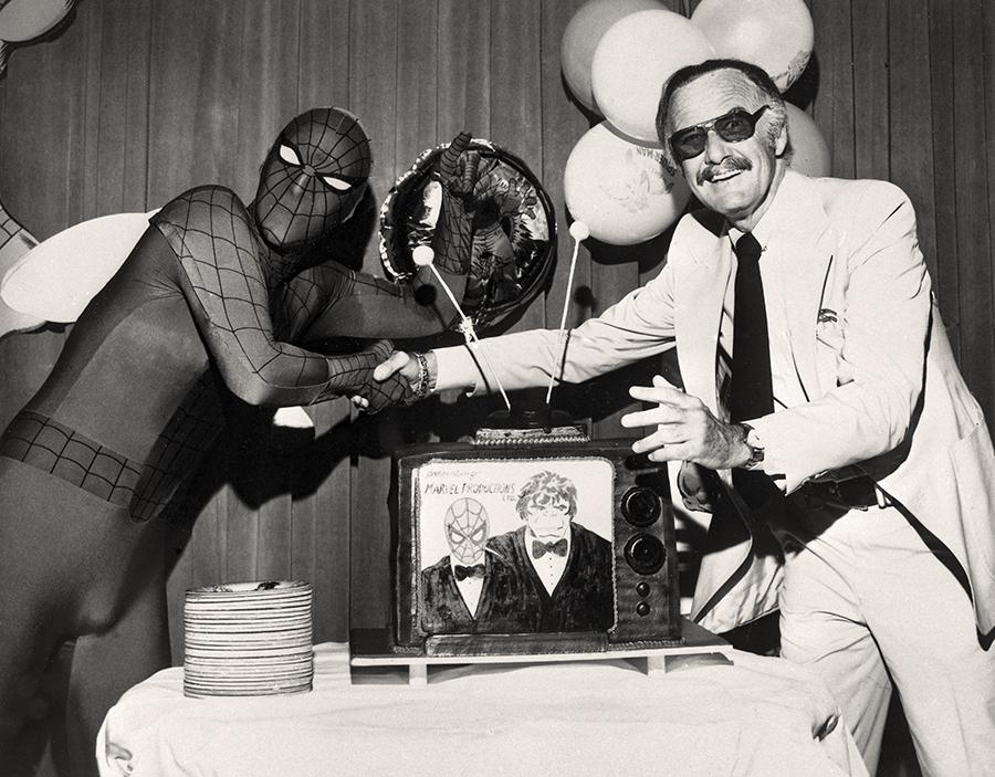 Stan Lee și Spider-Man