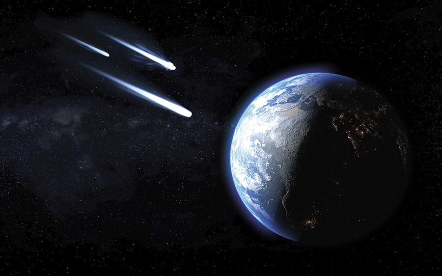 Meteorii pot fi un pericol