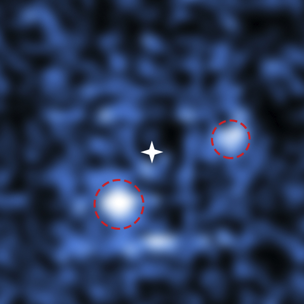 Mindcraftstories_Spatiu Cosmic-Extraterestrii-Exoplanete-PDS 70 b-PDS 70 c_ESO and S. Haffert (Leiden Observatory) Wikimedia Commons