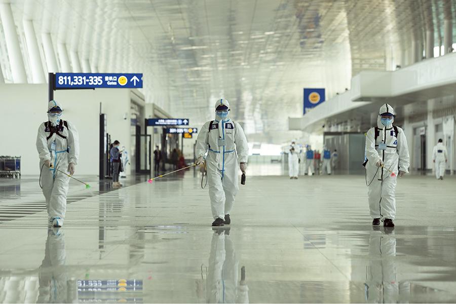 În 2020, Wuhan-ul a fost închis complet pentru a stăpâni epidemia de COVID-19.