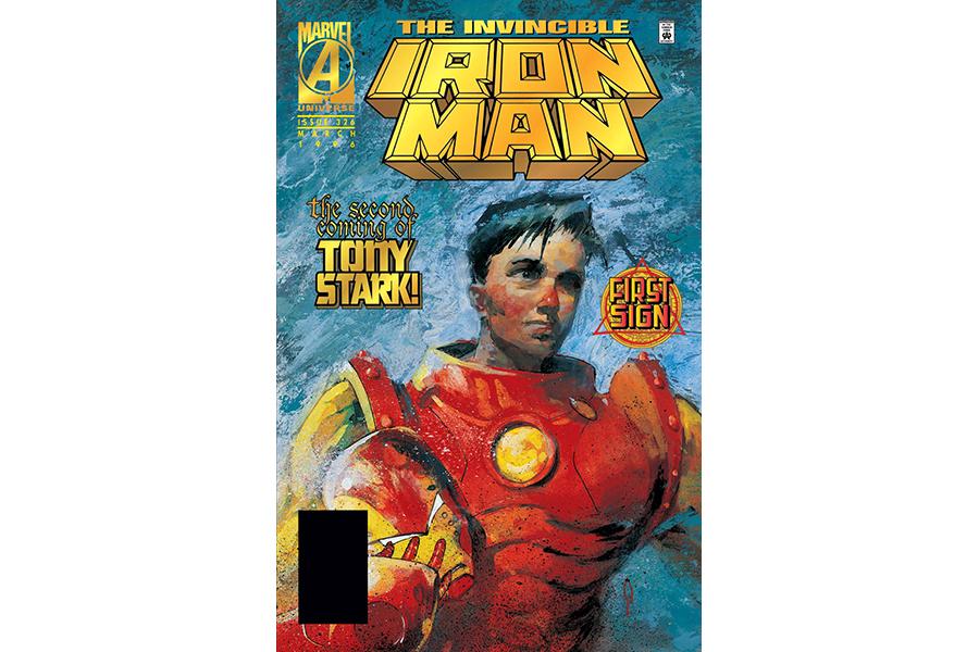 Copertă Iron Man