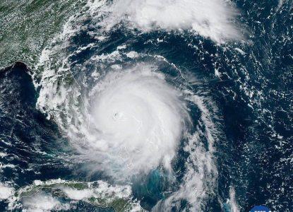 Galerie foto: Uraganul Dorian, văzut de pe orbită