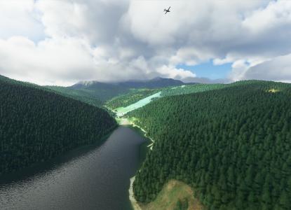 Cum se vede România din noul <i>Microsoft Flight Simulator</i>