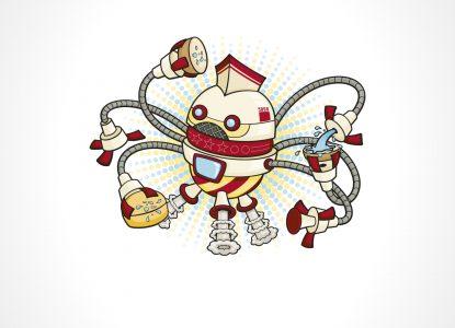 Adoptă un robot care face curat în casă