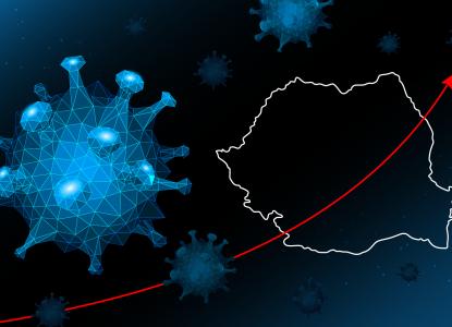 INFOGRAFIC | Evoluția COVID-19 în România