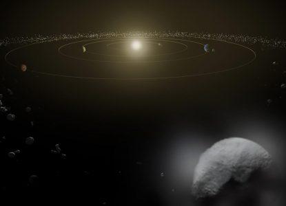 FarFarOut și dimensiunea Sistemului Solar