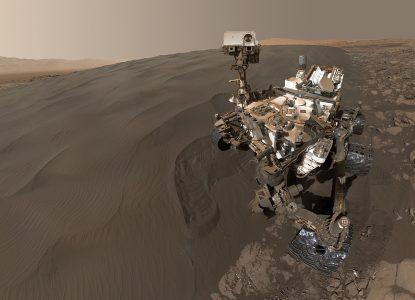 20 de imagini spectaculoase de pe Marte