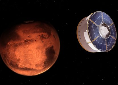 Trei misiuni spațiale ajung pe Marte în această lună