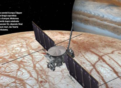 Misiunea Europa Clipper - pe urmele sondei Cassini