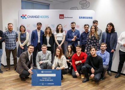 """Finala Changeneers – """"inginerii schimbării prin tehnologie"""""""