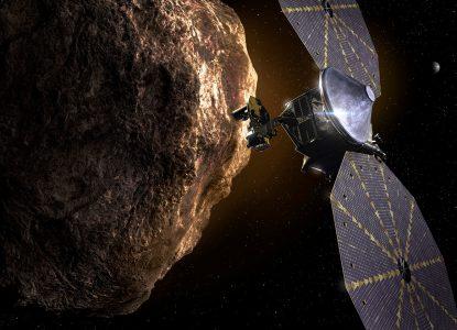 Misiunea Lucy - în căutarea fosilelor sistemului solar